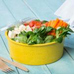 Mehrwegschale Häppy Bowl® mit Salat